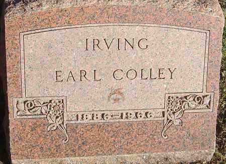 COLLEY, IRVING EARL - Franklin County, Ohio | IRVING EARL COLLEY - Ohio Gravestone Photos
