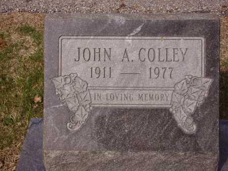 COLLEY, JOHN A. - Franklin County, Ohio | JOHN A. COLLEY - Ohio Gravestone Photos