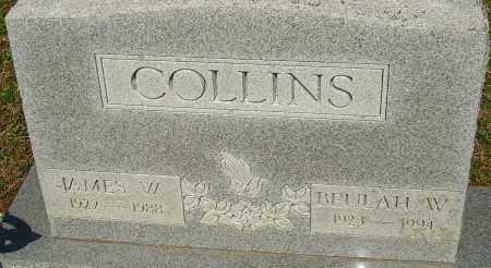 COLLINS, BEULAH W - Franklin County, Ohio | BEULAH W COLLINS - Ohio Gravestone Photos
