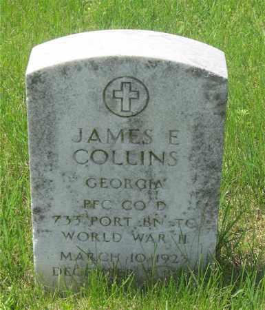 COLLINS, JAMES E. - Franklin County, Ohio | JAMES E. COLLINS - Ohio Gravestone Photos