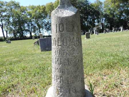 COLOMB, IOLA - Franklin County, Ohio | IOLA COLOMB - Ohio Gravestone Photos