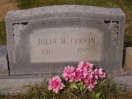 COLVIN, JULIA M. - Franklin County, Ohio   JULIA M. COLVIN - Ohio Gravestone Photos