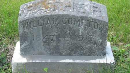 COMPTON, WILLIAM - Franklin County, Ohio | WILLIAM COMPTON - Ohio Gravestone Photos