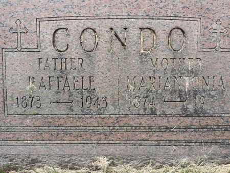CONDO, RAFFAELE - Franklin County, Ohio | RAFFAELE CONDO - Ohio Gravestone Photos