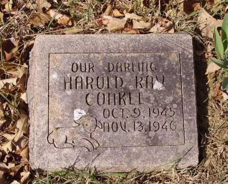 CONKEL, HAROLD RAY - Franklin County, Ohio | HAROLD RAY CONKEL - Ohio Gravestone Photos