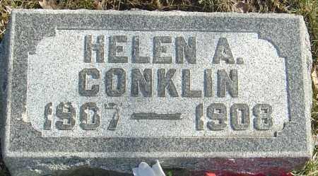 CONKLIN, HELEN A - Franklin County, Ohio | HELEN A CONKLIN - Ohio Gravestone Photos