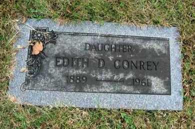 CONREY, EDITH D. - Franklin County, Ohio | EDITH D. CONREY - Ohio Gravestone Photos