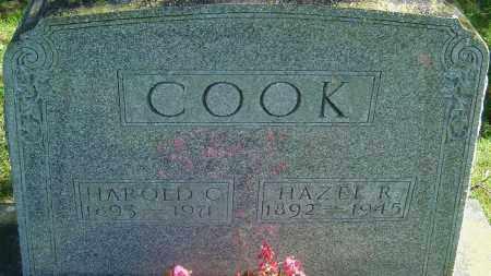 COOK, HAZEL REED - Franklin County, Ohio | HAZEL REED COOK - Ohio Gravestone Photos