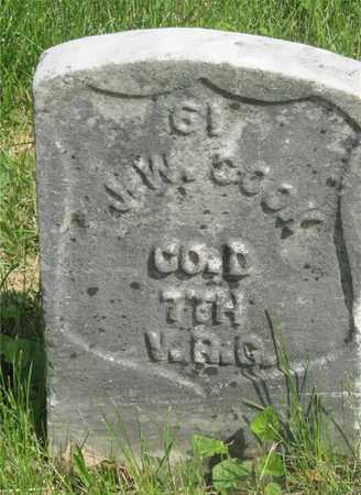 COOK, J. W. - Franklin County, Ohio | J. W. COOK - Ohio Gravestone Photos