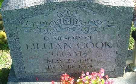 COOK, LILLIAN - Franklin County, Ohio | LILLIAN COOK - Ohio Gravestone Photos