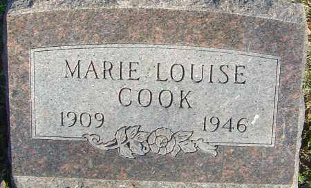 COOK, MARIE LOUISE - Franklin County, Ohio | MARIE LOUISE COOK - Ohio Gravestone Photos