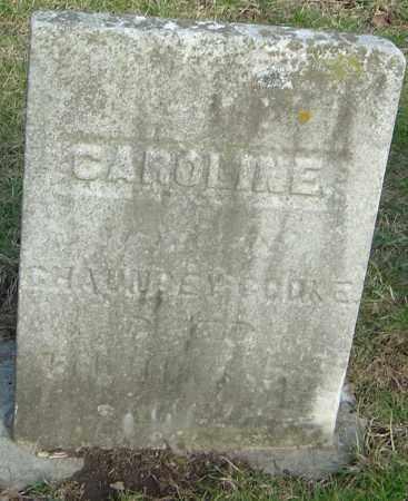 COOKE, CAROLINE - Franklin County, Ohio   CAROLINE COOKE - Ohio Gravestone Photos