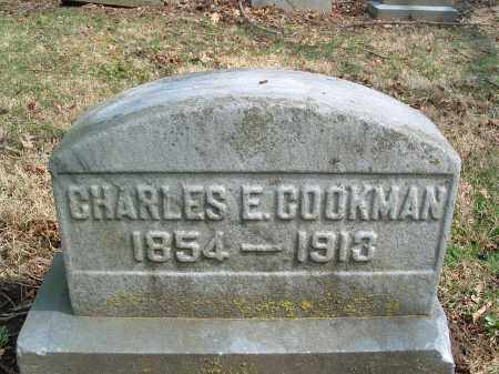 COOKMAN, CHARLES E. - Franklin County, Ohio   CHARLES E. COOKMAN - Ohio Gravestone Photos