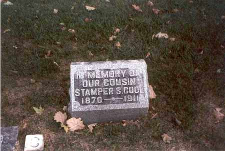 COOL, STAMPER S. - Franklin County, Ohio | STAMPER S. COOL - Ohio Gravestone Photos
