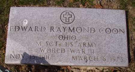 COON, EDWARD RAYMOND - Franklin County, Ohio | EDWARD RAYMOND COON - Ohio Gravestone Photos