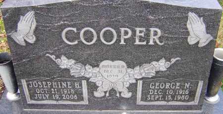 COOPER, JOSEPHINE - Franklin County, Ohio | JOSEPHINE COOPER - Ohio Gravestone Photos