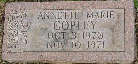COPLEY, ANNETTE MARIE - Franklin County, Ohio | ANNETTE MARIE COPLEY - Ohio Gravestone Photos