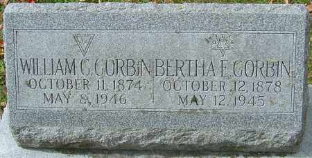 PELL CORBIN, BERTHA E - Franklin County, Ohio | BERTHA E PELL CORBIN - Ohio Gravestone Photos