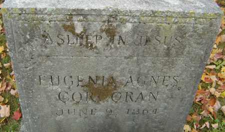 CORCORAN, EUGENIA AGNES - Franklin County, Ohio | EUGENIA AGNES CORCORAN - Ohio Gravestone Photos