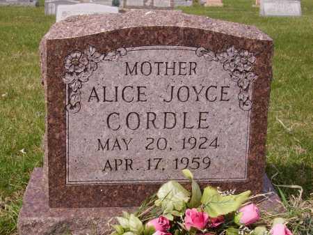 CORDELL, ALICE JOYCE - Franklin County, Ohio | ALICE JOYCE CORDELL - Ohio Gravestone Photos