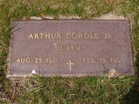 CORDLE, ARTHUR, JR. - Franklin County, Ohio | ARTHUR, JR. CORDLE - Ohio Gravestone Photos