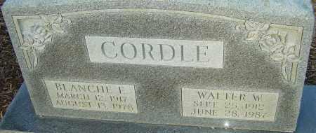 CORDLE, BLANCHE - Franklin County, Ohio | BLANCHE CORDLE - Ohio Gravestone Photos