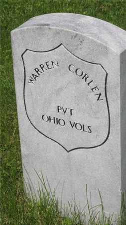 CORLEN, WARREN - Franklin County, Ohio   WARREN CORLEN - Ohio Gravestone Photos