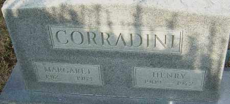 CORRADINI, HENRY - Franklin County, Ohio | HENRY CORRADINI - Ohio Gravestone Photos