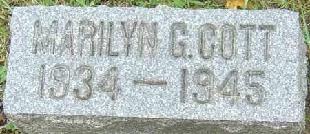 COTT, MARILYN GRACE - Franklin County, Ohio | MARILYN GRACE COTT - Ohio Gravestone Photos