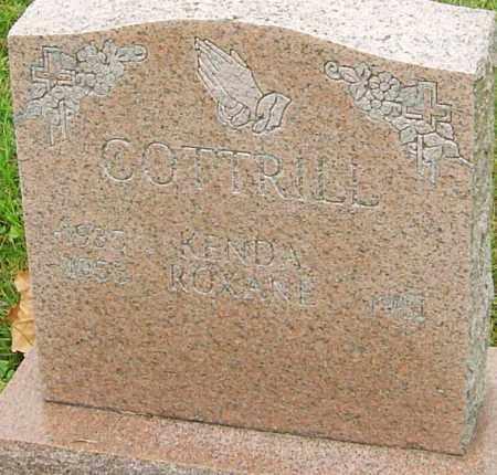 COTTRILL, ROXANE - Franklin County, Ohio   ROXANE COTTRILL - Ohio Gravestone Photos