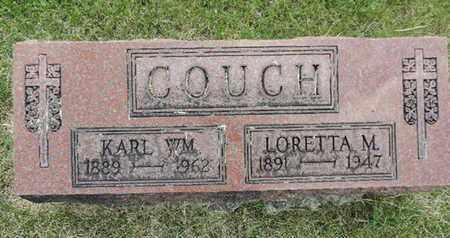 COUCH, KARL WM. - Franklin County, Ohio | KARL WM. COUCH - Ohio Gravestone Photos