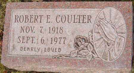 COULTER, ROBERT E - Franklin County, Ohio | ROBERT E COULTER - Ohio Gravestone Photos