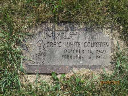 COURTNEY, CRAIG WHITE - Franklin County, Ohio | CRAIG WHITE COURTNEY - Ohio Gravestone Photos