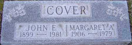 COVER, JOHN - Franklin County, Ohio | JOHN COVER - Ohio Gravestone Photos
