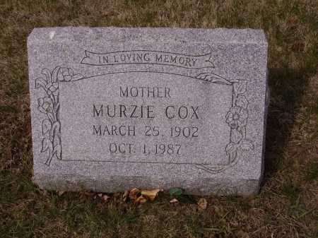 COX, MURZIE - Franklin County, Ohio | MURZIE COX - Ohio Gravestone Photos