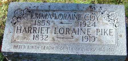 PIKE, HARRIET LORAINE - Franklin County, Ohio | HARRIET LORAINE PIKE - Ohio Gravestone Photos