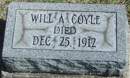 COYLE, WILL A - Franklin County, Ohio | WILL A COYLE - Ohio Gravestone Photos
