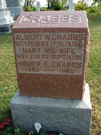CRABBS, HOMER T. - Franklin County, Ohio | HOMER T. CRABBS - Ohio Gravestone Photos