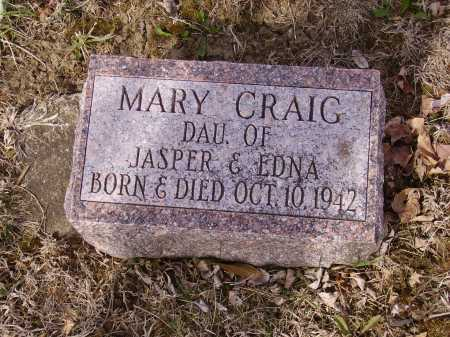 CRAIG, MARY - Franklin County, Ohio | MARY CRAIG - Ohio Gravestone Photos