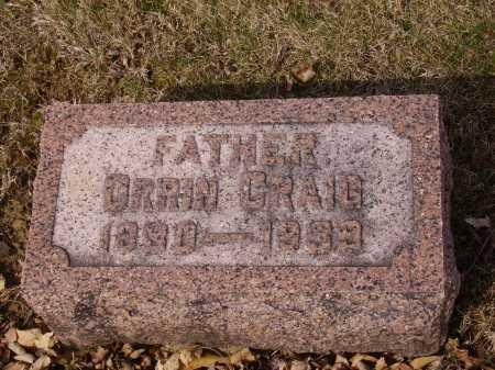 CRAIG, ORRIN - Franklin County, Ohio | ORRIN CRAIG - Ohio Gravestone Photos