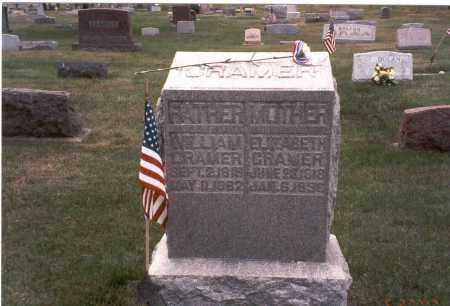 CRAMER, WILLIAM - Franklin County, Ohio   WILLIAM CRAMER - Ohio Gravestone Photos