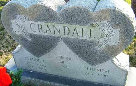 CRANDALL, CLAUDE E - Franklin County, Ohio | CLAUDE E CRANDALL - Ohio Gravestone Photos
