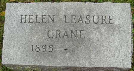 LEASURE CRANE, HELEN - Franklin County, Ohio | HELEN LEASURE CRANE - Ohio Gravestone Photos
