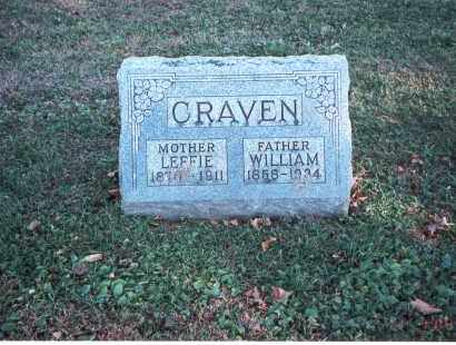 CRAVEN, LEFFIE - Franklin County, Ohio | LEFFIE CRAVEN - Ohio Gravestone Photos