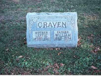 CRAVEN, WILLIAM - Franklin County, Ohio | WILLIAM CRAVEN - Ohio Gravestone Photos