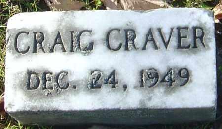 CRAVER, CRAIG - Franklin County, Ohio | CRAIG CRAVER - Ohio Gravestone Photos