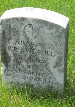 CRAWFORD, CARSON A. - Franklin County, Ohio   CARSON A. CRAWFORD - Ohio Gravestone Photos