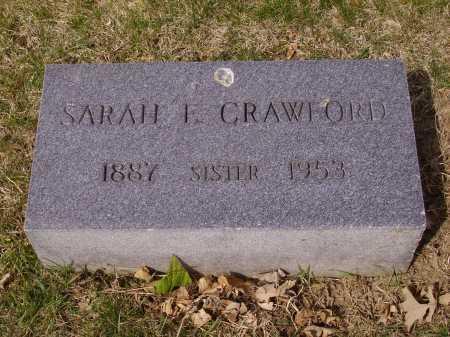 CRAWFORD, SARAH E. - Franklin County, Ohio   SARAH E. CRAWFORD - Ohio Gravestone Photos