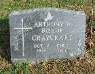 CRAYCRAFT, ANTHONY D. BISHOP - Franklin County, Ohio   ANTHONY D. BISHOP CRAYCRAFT - Ohio Gravestone Photos