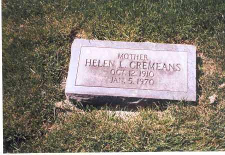 FLOWERS CREMEANS, HELEN L. - Franklin County, Ohio | HELEN L. FLOWERS CREMEANS - Ohio Gravestone Photos